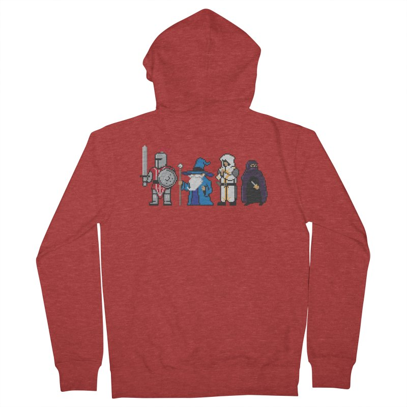 This Is How We Party | 80's RPG Women's French Terry Zip-Up Hoody by march1studios's Artist Shop