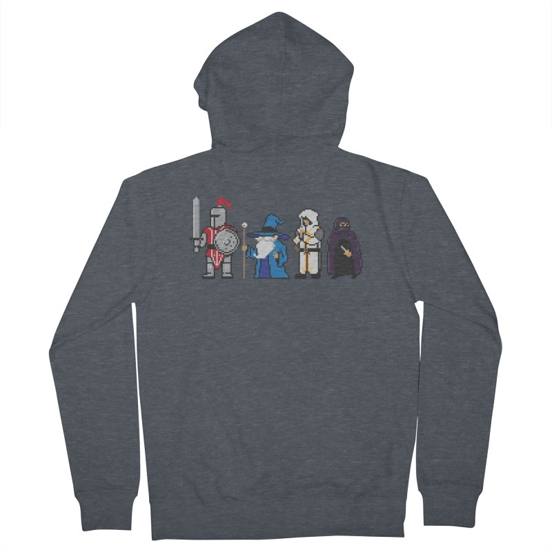 This Is How We Party | 80's RPG Men's French Terry Zip-Up Hoody by March1Studios on Threadless