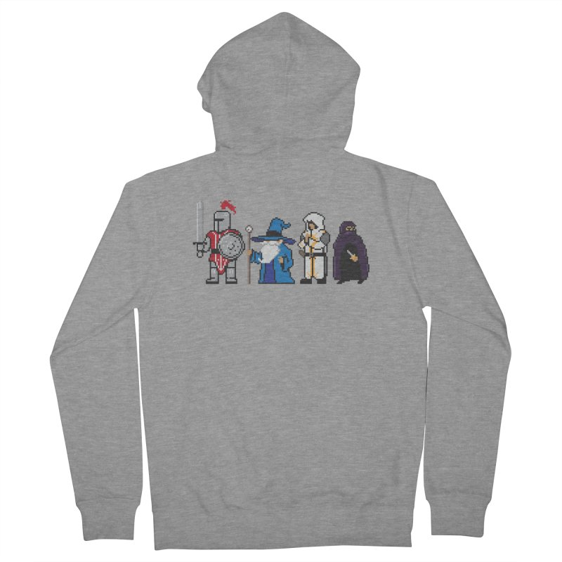 This Is How We Party | 80's RPG Men's French Terry Zip-Up Hoody by march1studios's Artist Shop