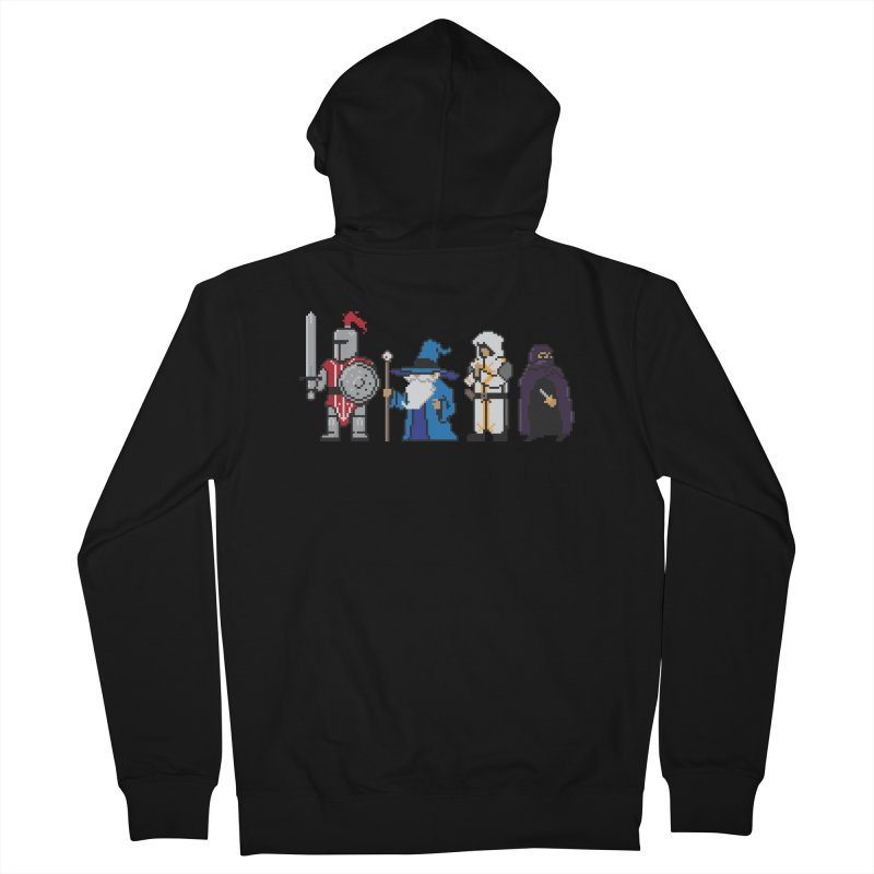 This Is How We Party | 80's RPG Men's Zip-Up Hoody by march1studios's Artist Shop