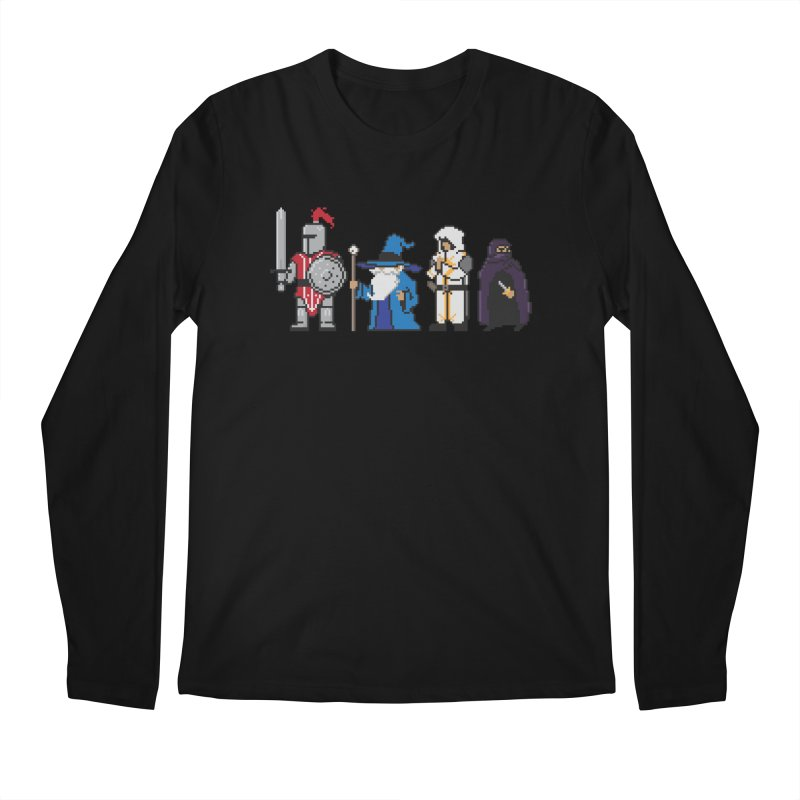 This Is How We Party | 80's RPG Men's Regular Longsleeve T-Shirt by march1studios's Artist Shop