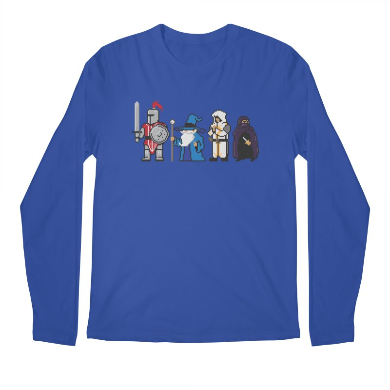 This Is How We Party | 80's RPG Men's Longsleeve T-Shirt by march1studios's Artist Shop