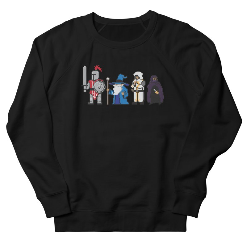 This Is How We Party | 80's RPG Men's French Terry Sweatshirt by march1studios's Artist Shop