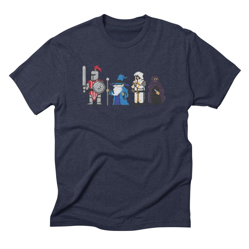 This Is How We Party   80's RPG Men's Triblend T-Shirt by march1studios's Artist Shop