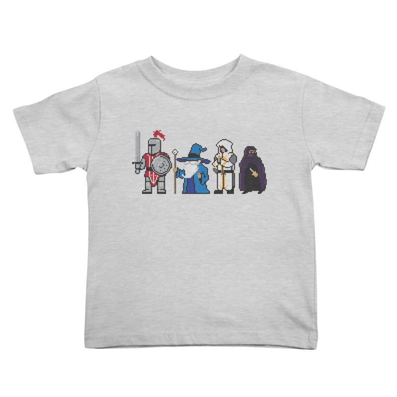 This Is How We Party | 80's RPG Kids Toddler T-Shirt by march1studios's Artist Shop