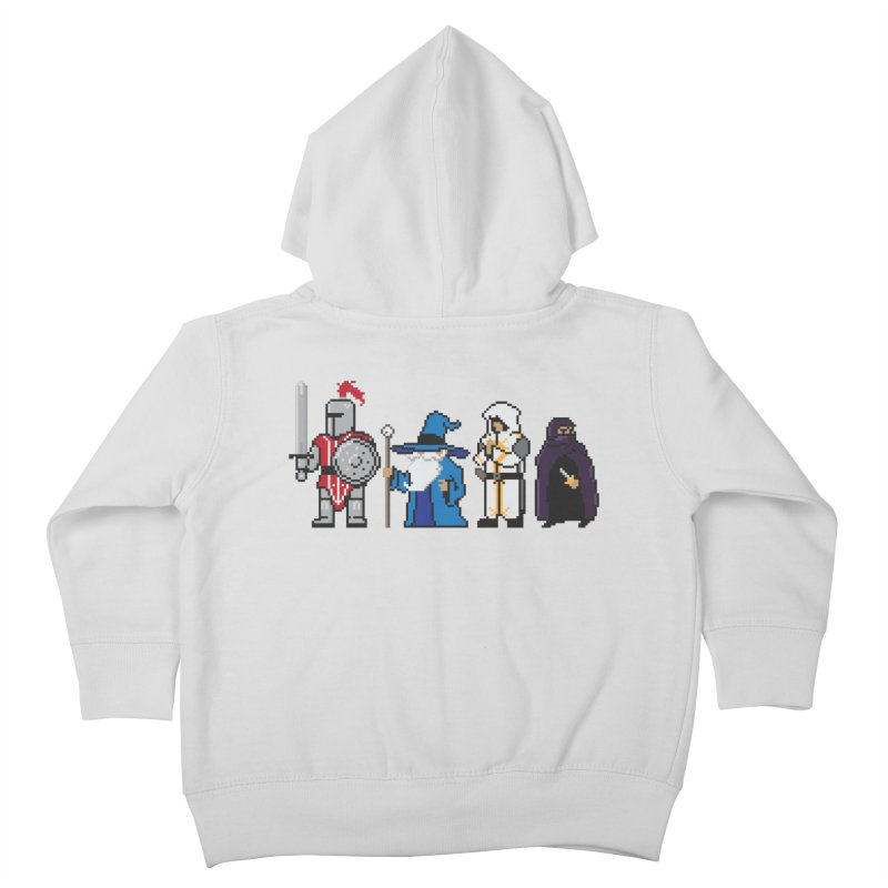 This Is How We Party   80's RPG Kids Toddler Zip-Up Hoody by March1Studios on Threadless
