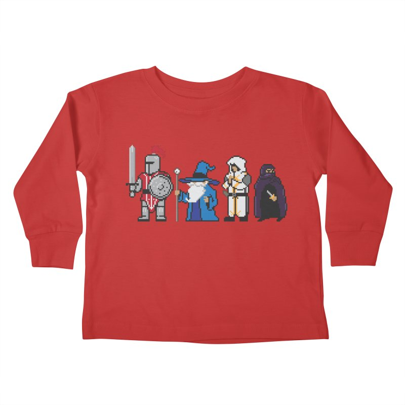 This Is How We Party | 80's RPG Kids Toddler Longsleeve T-Shirt by march1studios's Artist Shop
