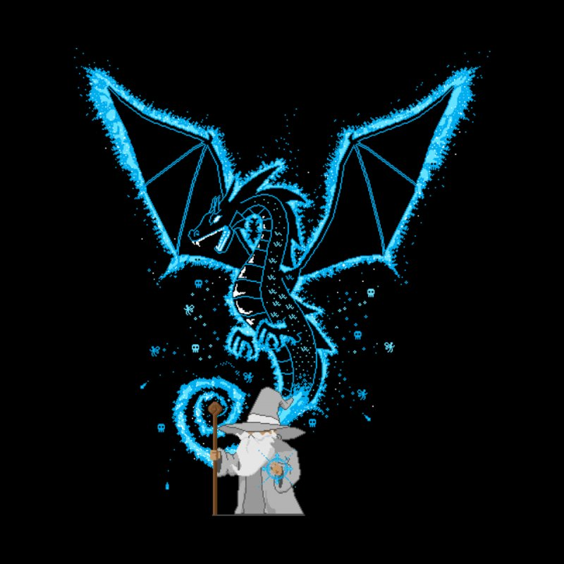 Pixel Wizard   by March1Studios on Threadless