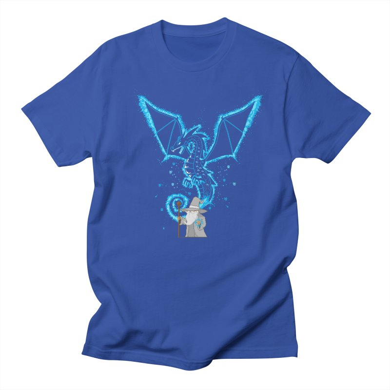 Pixel Wizard Men's T-Shirt by march1studios's Artist Shop