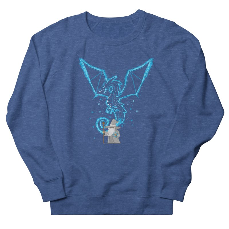 Pixel Wizard Men's French Terry Sweatshirt by march1studios's Artist Shop