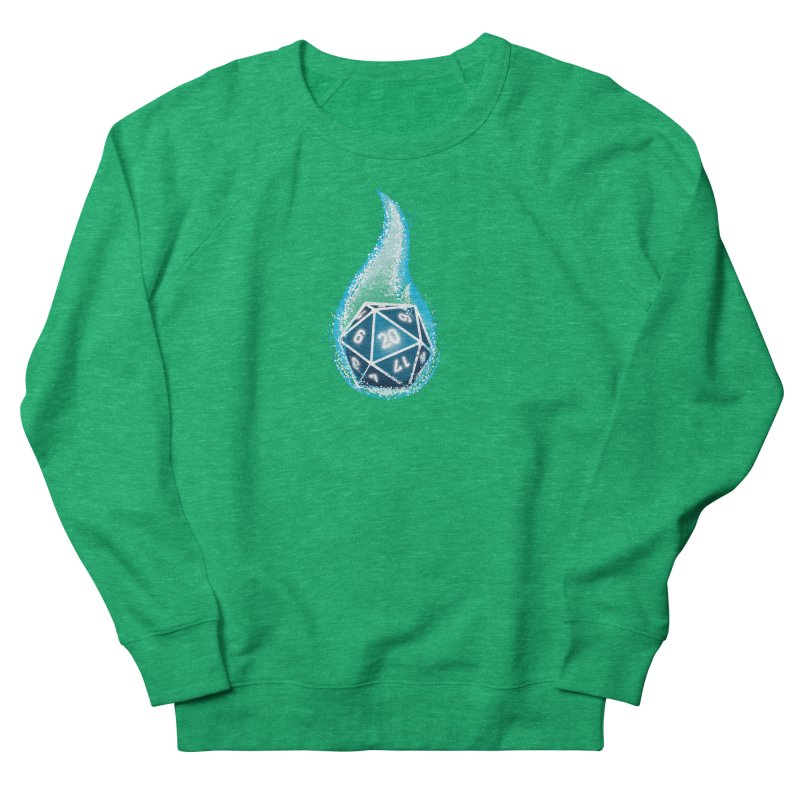 This Is How I Roll: Blue Flames Men's French Terry Sweatshirt by march1studios's Artist Shop