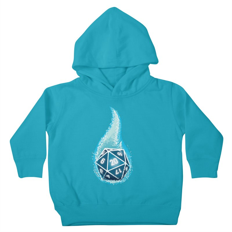 This Is How I Roll: Blue Flames Kids Toddler Pullover Hoody by march1studios's Artist Shop