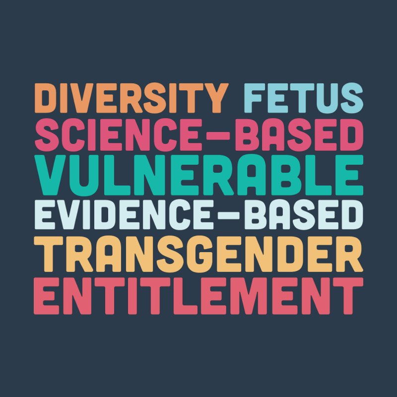 Diversity Fetus Science-Based Vulnerable Evidence-Based Transgender Entitlement by March1Studios on Threadless