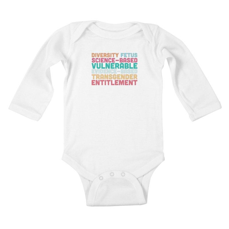 Diversity Fetus Science-Based Vulnerable Evidence-Based Transgender Entitlement Kids Baby Longsleeve Bodysuit by march1studios's Artist Shop