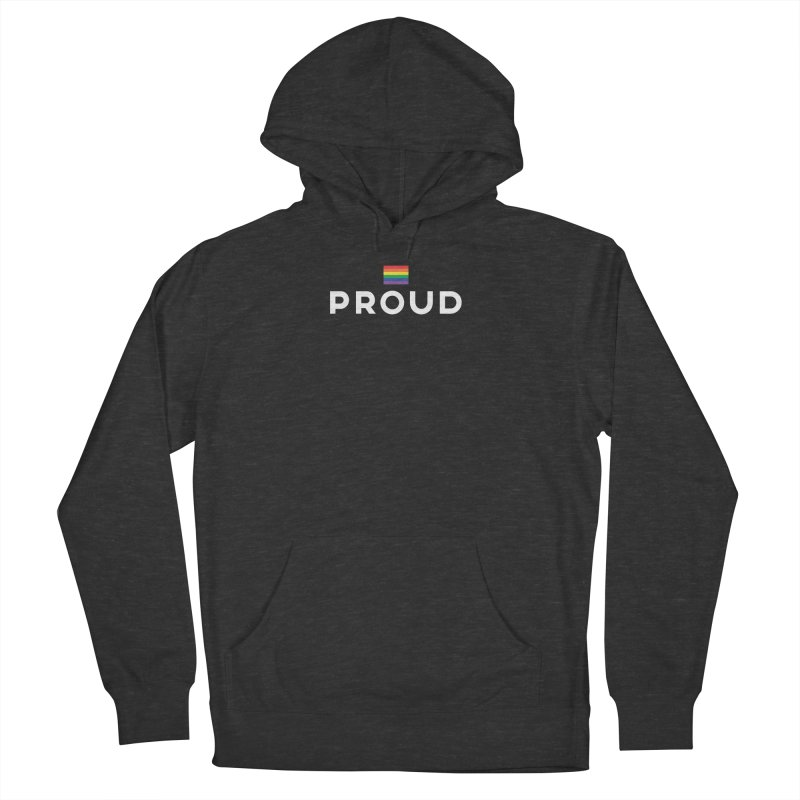 Simply Proud   Dark Background Women's Pullover Hoody by march1studios's Artist Shop