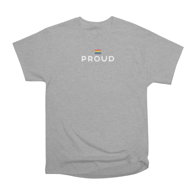 Simply Proud | Dark Background Women's Classic Unisex T-Shirt by march1studios's Artist Shop