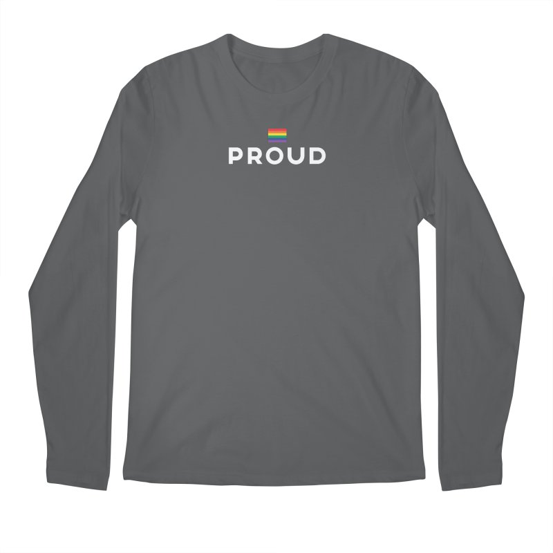 Simply Proud | Dark Background Men's Regular Longsleeve T-Shirt by March1Studios on Threadless