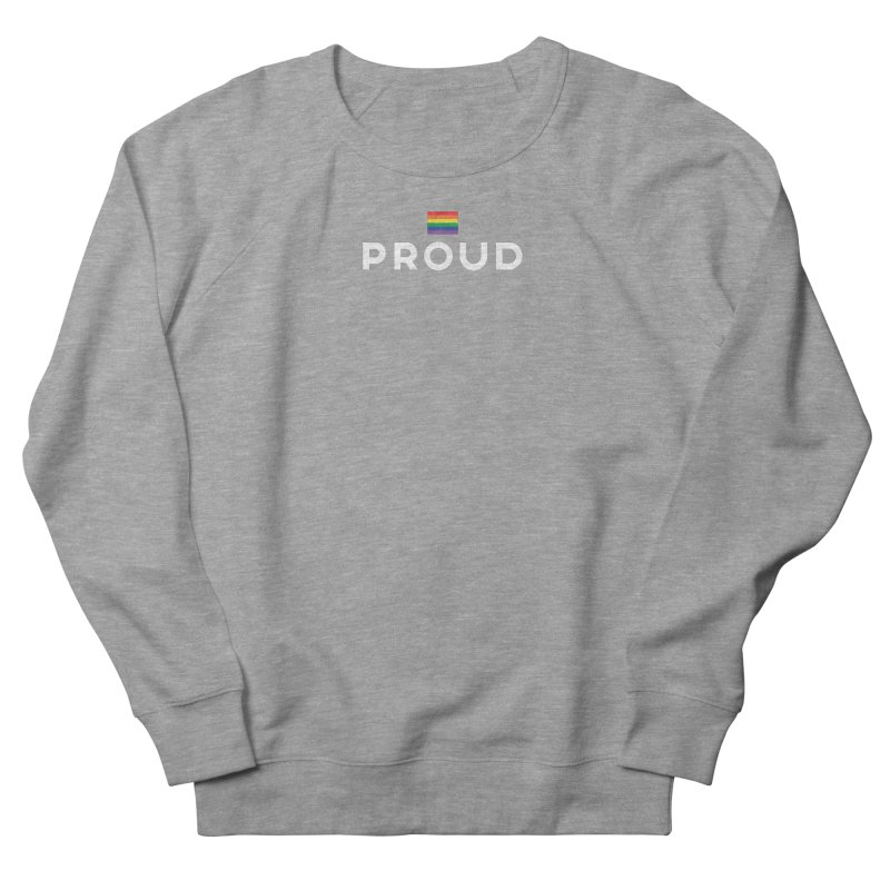 Simply Proud | Dark Background Women's French Terry Sweatshirt by march1studios's Artist Shop