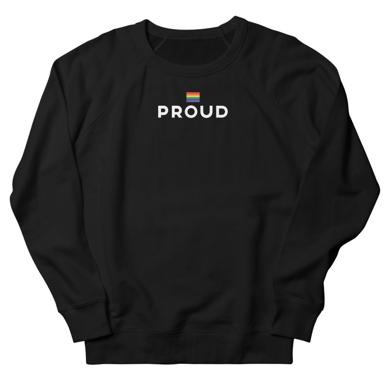 Simply Proud | Dark Background Men's Sweatshirt by march1studios's Artist Shop