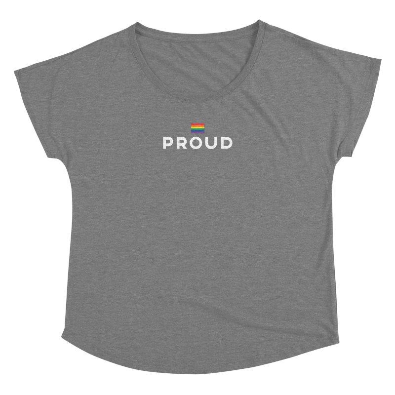 Simply Proud | Dark Background Women's Dolman by march1studios's Artist Shop