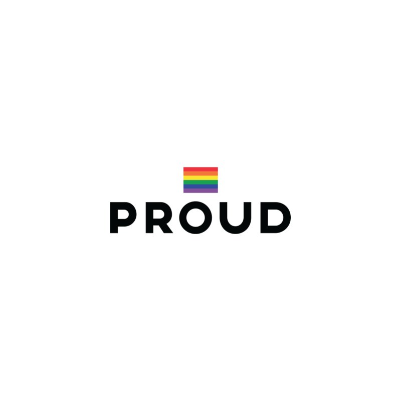 Simply Proud | Light Backgrounds by March1Studios on Threadless