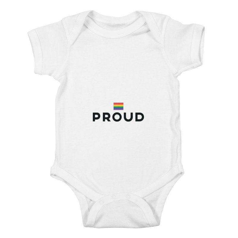 Simply Proud | Light Backgrounds Kids Baby Bodysuit by march1studios's Artist Shop
