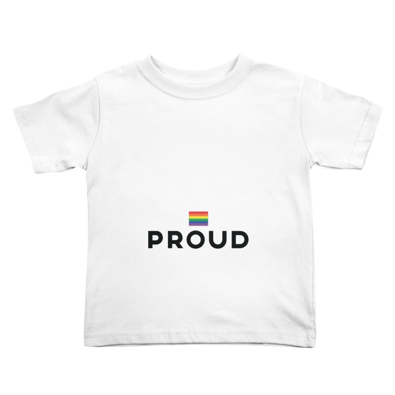 Simply Proud | Light Backgrounds Kids Toddler T-Shirt by march1studios's Artist Shop