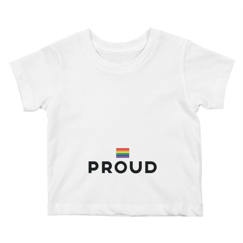 Simply Proud | Light Backgrounds Kids Baby T-Shirt by march1studios's Artist Shop