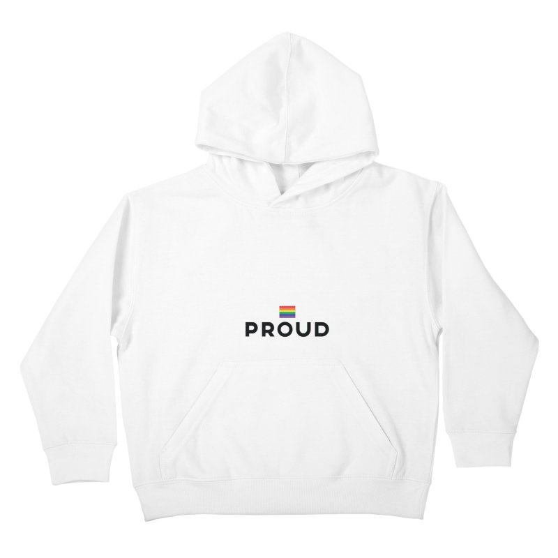 Simply Proud | Light Backgrounds Kids Pullover Hoody by march1studios's Artist Shop
