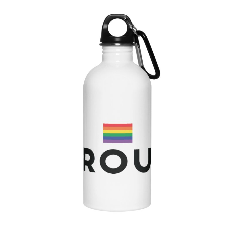 Simply Proud | Light Backgrounds Accessories Water Bottle by march1studios's Artist Shop