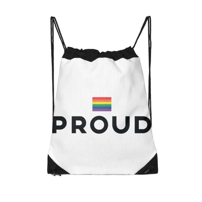 Simply Proud | Light Backgrounds Accessories Drawstring Bag Bag by March1Studios on Threadless