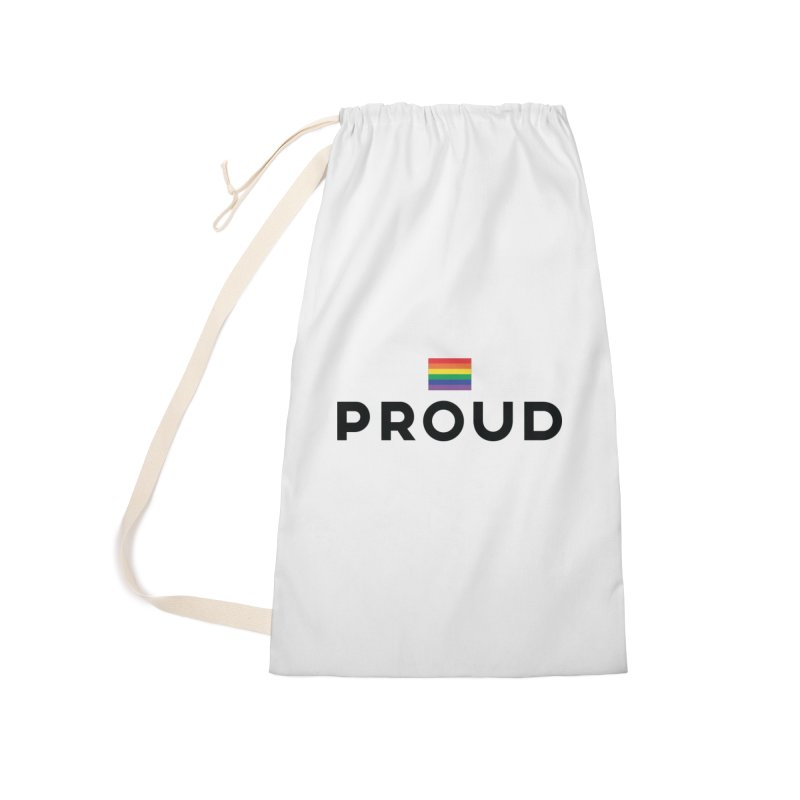 Simply Proud | Light Backgrounds Accessories Laundry Bag Bag by March1Studios on Threadless