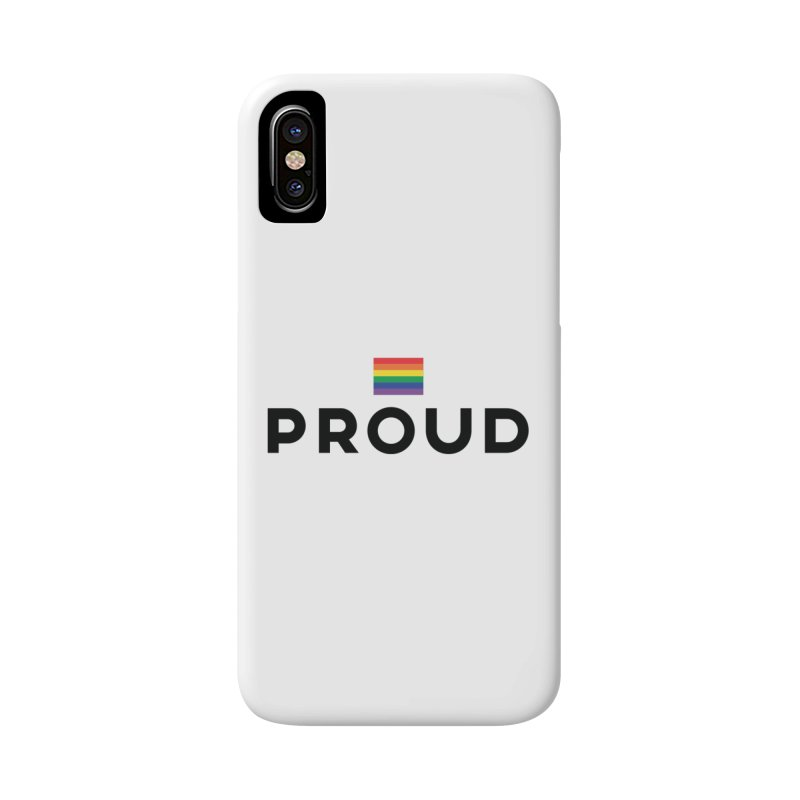 Simply Proud | Light Backgrounds Accessories Phone Case by march1studios's Artist Shop