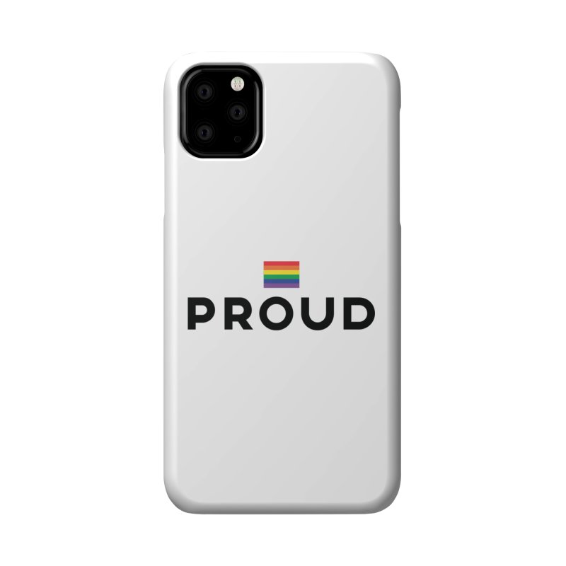 Simply Proud | Light Backgrounds Accessories Phone Case by March1Studios on Threadless