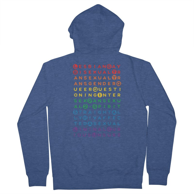 Gay Bee Cee's Women's French Terry Zip-Up Hoody by march1studios's Artist Shop