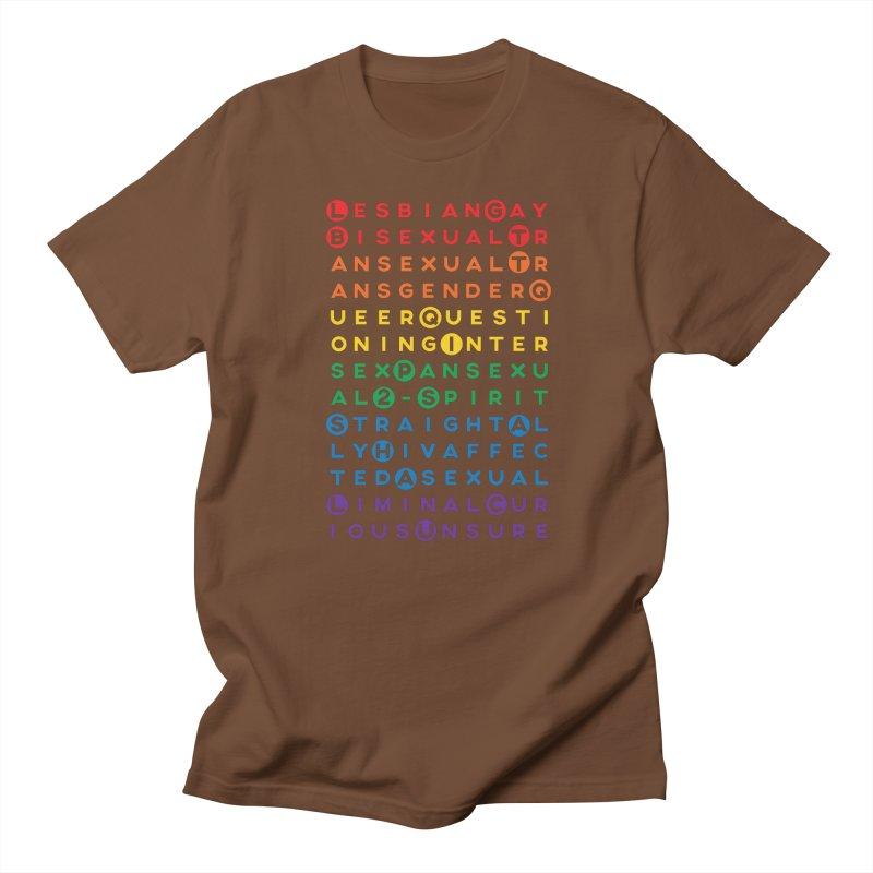 Gay Bee Cee's Men's T-Shirt by march1studios's Artist Shop