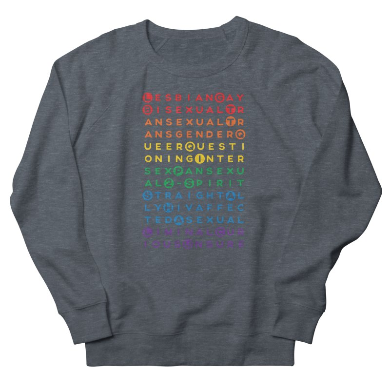 Gay Bee Cee's Men's French Terry Sweatshirt by march1studios's Artist Shop