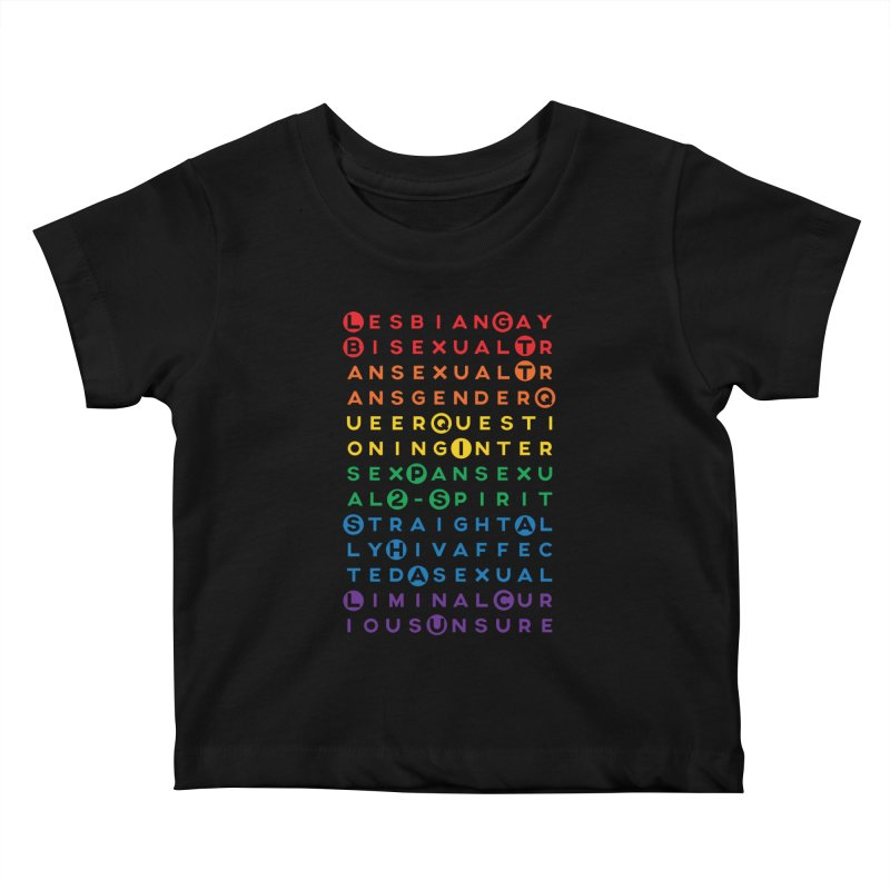 Gay Bee Cee's Kids Baby T-Shirt by march1studios's Artist Shop