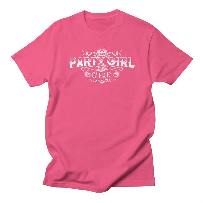 Party Girl: Cleric Men's Regular T-Shirt by march1studios's Artist Shop