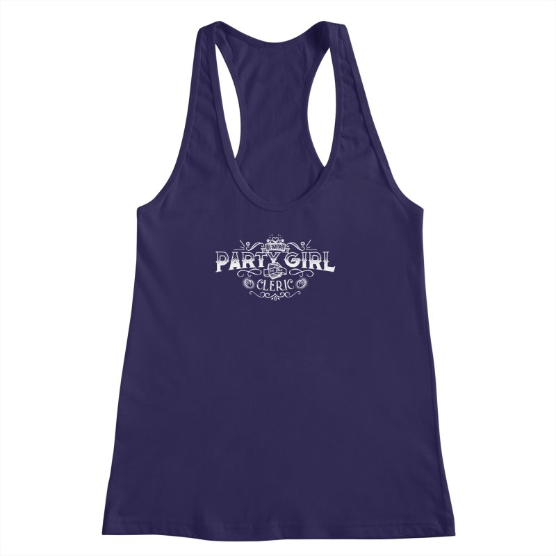 Party Girl: Cleric Women's Racerback Tank by march1studios's Artist Shop