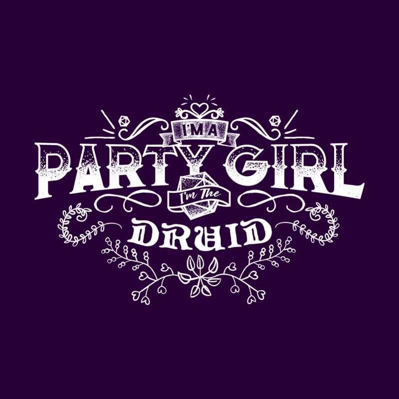 Party Girl: Druid by March1Studios on Threadless