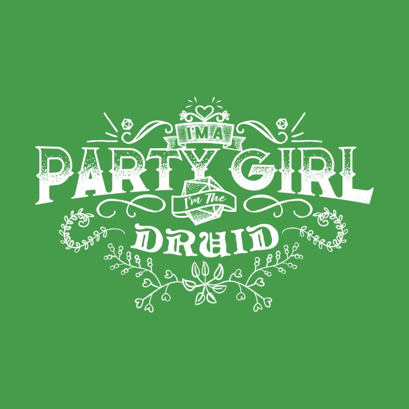 Party Girl: Druid Women's T-Shirt by March1Studios on Threadless