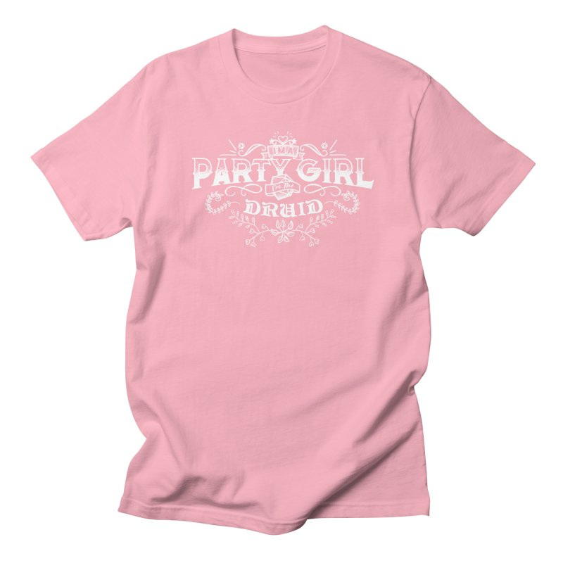 Party Girl: Druid Women's Regular Unisex T-Shirt by march1studios's Artist Shop