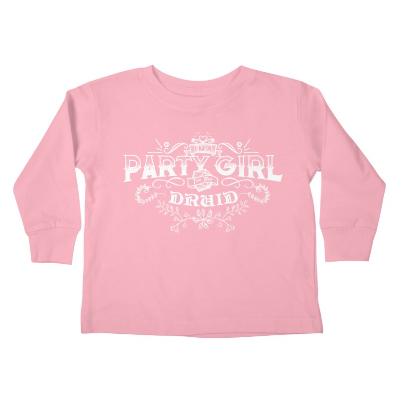 Party Girl: Druid Kids Toddler Longsleeve T-Shirt by March1Studios on Threadless