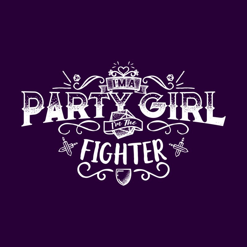 Party Girl: Fighter by march1studios's Artist Shop