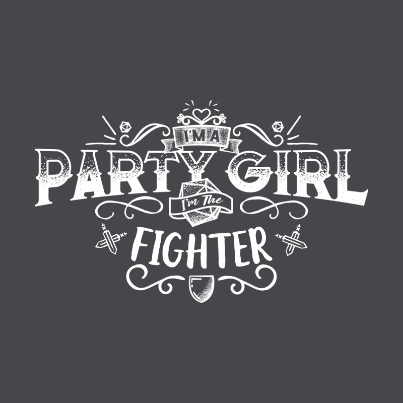 Party Girl: Fighter Men's T-Shirt by March1Studios on Threadless