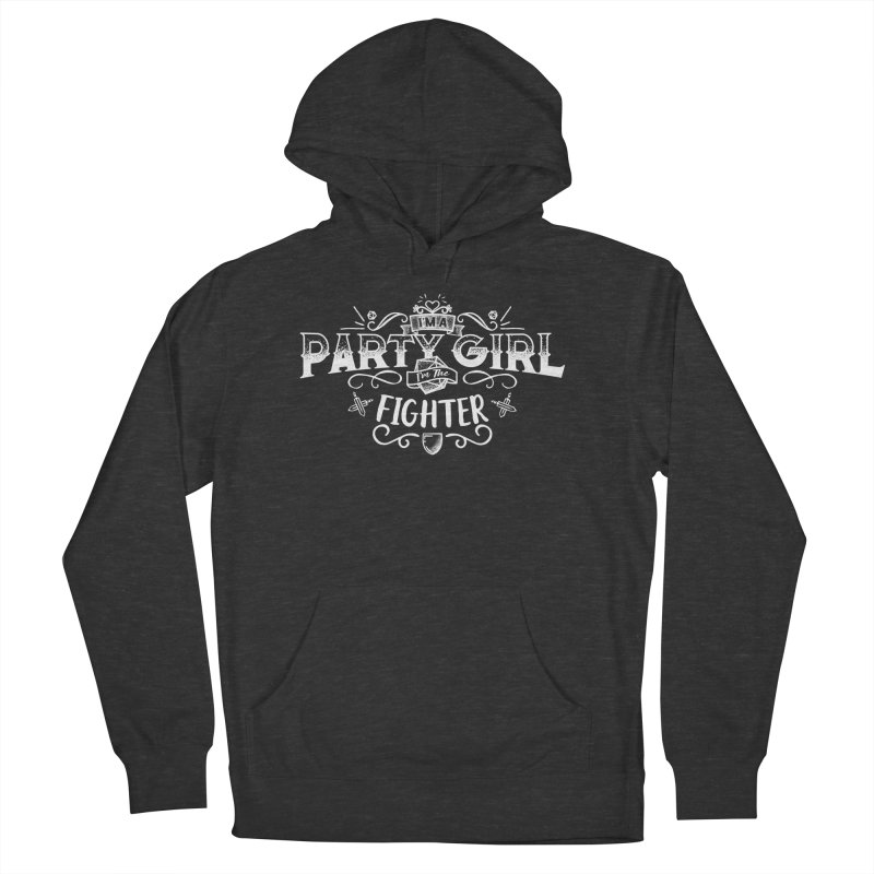 Party Girl: Fighter Men's French Terry Pullover Hoody by March1Studios on Threadless