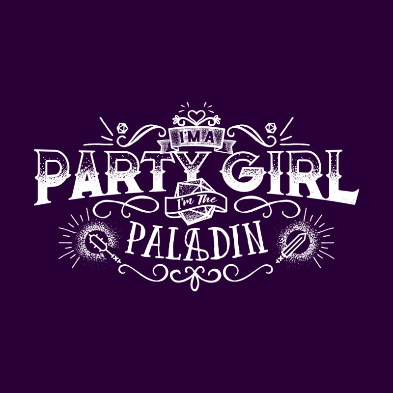 Party Girl: Paladin by march1studios's Artist Shop