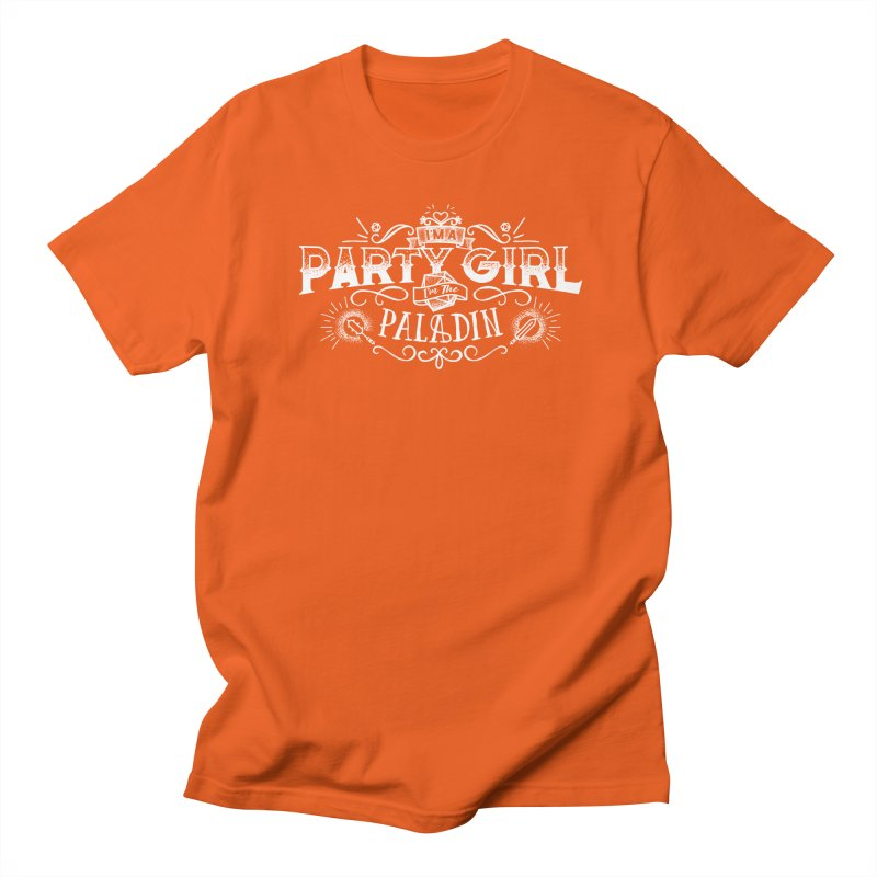 Party Girl: Paladin Women's Regular Unisex T-Shirt by March1Studios on Threadless