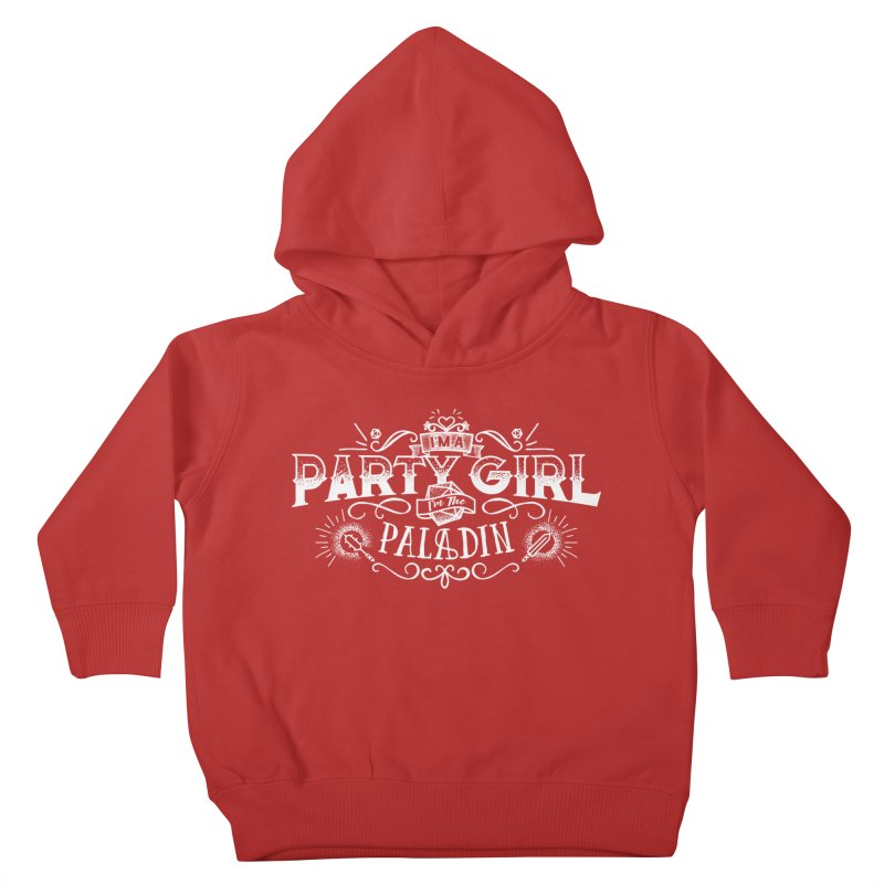 Party Girl: Paladin Kids Toddler Pullover Hoody by march1studios's Artist Shop